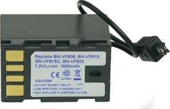 Acumulator Power3000 tip BN-VF808 BN VF815 pentru JVC 1600mAh