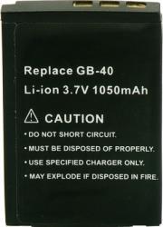 Acumulator Power3000 tip GB40 pentru GE 1050mAh