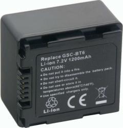 Acumulator Power3000 tip GSC-BT6 pentru Toshiba 1200mAh