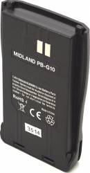 Acumulator Midland PB-G10 Li-Ion 1200 mAh pentru Statie G10 Accesorii statii radio