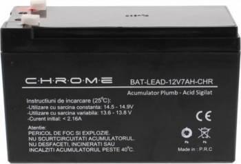 Acumulator plumb acid Chrome 12V 7Ah Acumulatori UPS