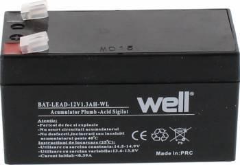 Acumulator plumb acid Well 12V 1.3AH Acumulatori UPS