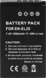 Acumulator Power3000 PLW804B.316 pentru Nikon EN-EL20 Acumulatori si Incarcatoare dedicate
