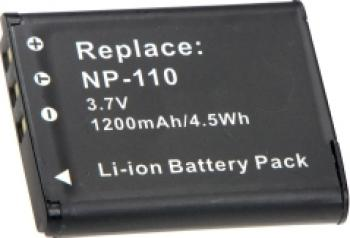 Acumulator Power3000 tip Casio NP-110 1200mAh Acumulatori si Incarcatoare dedicate
