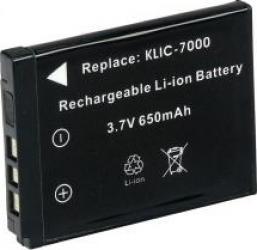 Acumulator Power3000 tip Kodak KLIC -7000 650mAh Acumulatori si Incarcatoare dedicate