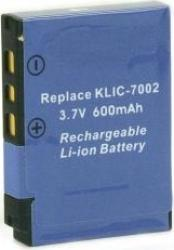 Acumulator Power3000 tip Kodak KLIC-7002 600mAh Acumulatori si Incarcatoare dedicate