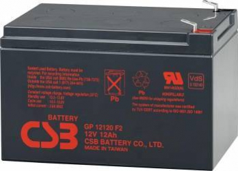 Acumulator UPS CSB GP12120 F2 12V 12Ah Acumulatori UPS