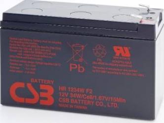 Acumulator UPS CSB HR1234W F2 12V 34W Acumulatori UPS