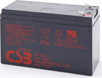 Acumulator UPS CSB GP1272 F2 12V 7.2Ah 2 buc Acumulatori UPS