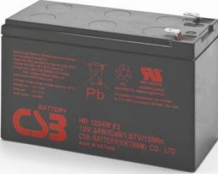 Acumulator UPS CSB HR1234W 12V 34W 2 buc Acumulatori UPS