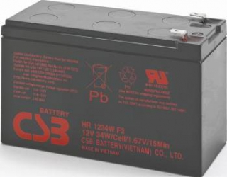 Acumulator UPS CSB HR1234W 12V 34W 3buc Acumulatori UPS