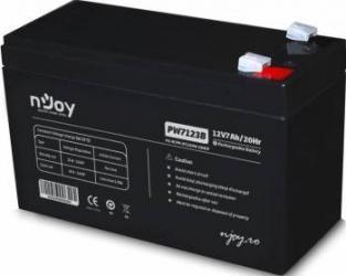 Acumulator UPS Njoy PW 7123 12V 7Ah Acumulatori UPS