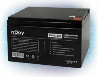Acumulator UPS Njoy PW12123B 12V 12A Acumulatori UPS