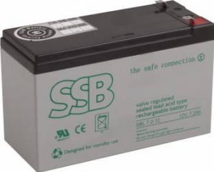 Acumulator UPS SSB SBL 7.2-12 12V 7.2Ah 20buc Acumulatori UPS