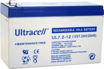 Acumulator UPS Ultracell 12V 7.2AH Acumulatori UPS