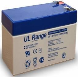 Acumulator UPS Ultracell VRLA AGM 12V 1.3Ah Acumulatori UPS