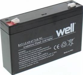 Acumulator UPS Well cu plumb acid 6V 7AH