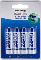 Acumulatori Whitenergy 4xAA R6 2800mAh Acumulatori Baterii Incarcatoare