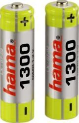 Acumulatori Hama 2x AA Mignon - HR 6 1300 mAh Acumulatori Baterii Incarcatoare