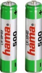 Acumulatori Hama 2xAAA Micro - HR03 500 mAh Acumulatori Baterii Incarcatoare