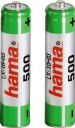 Acumulatori Hama 2xAAA Micro - HR03 500 mAh