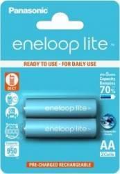 Acumulatori Panasonic Eneloop Lite R6 AA 950mAh - 2 buc. blister