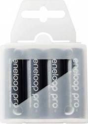 Acumulatori Panasonic Eneloop Pro R03 AAA 930mAh - 4 buc. Box Acumulatori Baterii Incarcatoare