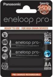 Acumulatori Panasonic Eneloop Pro R6 AA 2500mAh 2 buc Blister Acumulatori Baterii Incarcatoare