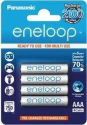 Acumulatori Panasonic Eneloop R03 AAA 750mAh - 4 buc. blister Acumulatori Baterii Incarcatoare