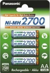 Acumulatori Panasonic R6 AA 2700mAh - 4 buc Acumulatori Baterii Incarcatoare