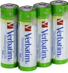 Acumulatori Verbatim 4xAA 2500mAh Acumulatori Baterii Incarcatoare