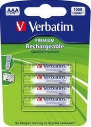Acumulatori Verbatim 4xAAA 1000mAh Acumulatori Baterii Incarcatoare