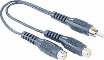 Adaptor audio Hama 43384 RCA Male la 2RCA Female