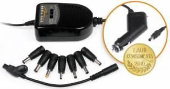 Adaptor Auto Universal 7 tensiuni Acumulatori Incarcatoare Laptop