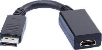 Adaptor AVS DisplayPort la HDMI - DP tata la HDMI mama