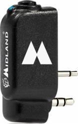 Adaptor Bluetooth Midland Wa-Dongle pentru Statii Radio Portabile cu 2 Pini Accesorii statii radio