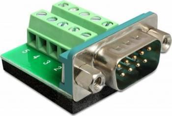 Adaptor Delock 65269 Serial T - Bloc terminal 10 pini Adaptoare