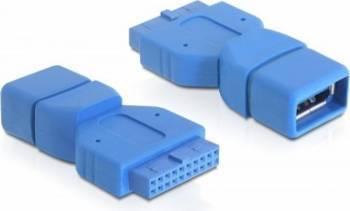 Adaptor Delock 65288 USB 3.0 M pin header 19 pini - USB 3.0 M tip A Adaptoare