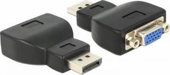 Adaptor Delock Displayport la VGA Adaptoare