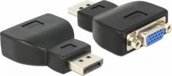 Adaptor Delock Displayport la VGA Adaptoare