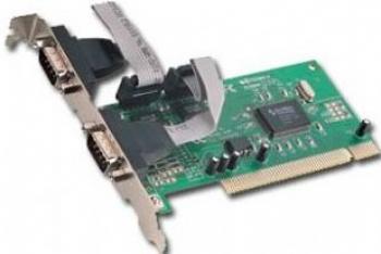 Adaptor Gembird PCI la COM Adaptoare Placi de baza