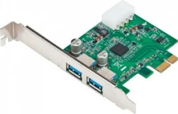 Adaptor Gembird PCI Express la USB 3.0 2 porturi Adaptoare