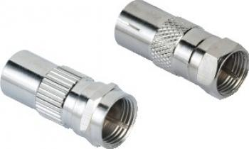 Adaptor Hama F-Plug - Coaxial