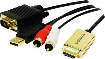 Adaptor Logilink HDMI la VGA Adaptoare TV