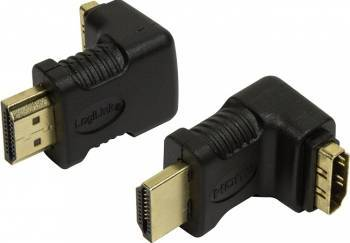 Adaptor HDMI LogiLink 90 de grade AH0007 Negru