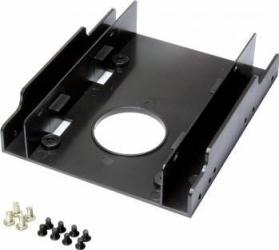 Adaptor Logilink AD0010 fixare HDD 2.5 in bay de 3.5 Negru