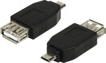 Adaptor Logilink micro-USB la USB Adaptoare