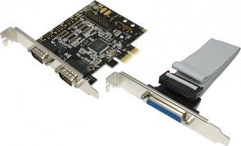 Adaptor Logilink PCI-E la 2x Serial si 1x Paralel