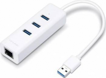 Adaptor Retea TP-Link USB 3.0 UE330 2 IN 1 Adaptor Retea