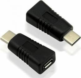Adaptor Value 12.99.3190-10 USB Type-C T - Micro-USB M Adaptoare